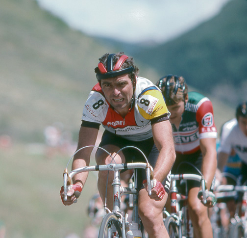 Diane Huntress photo of great bike racer Hinault