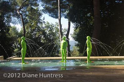 Green men in the landscape
