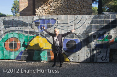 Diane in the Miro's Labyrinth