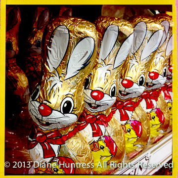 Cute Easter candy bunnies - sinister?