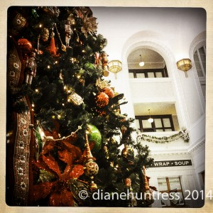 Historical Christmas Tree Union Station