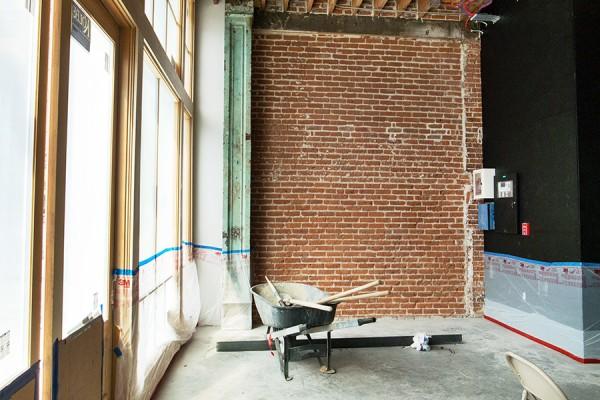 Historic Brick Lobby