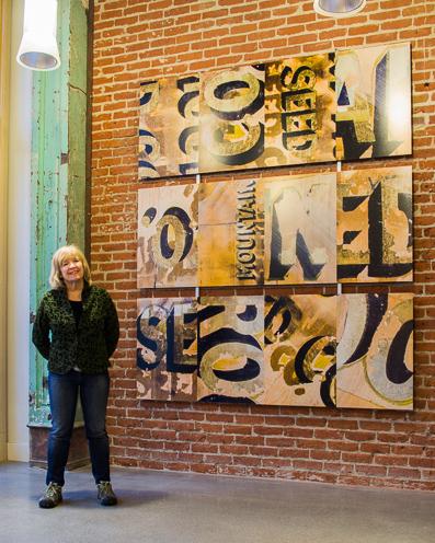 artist, photo, mural, historic