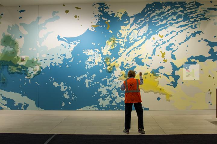 artwork colorful entrance