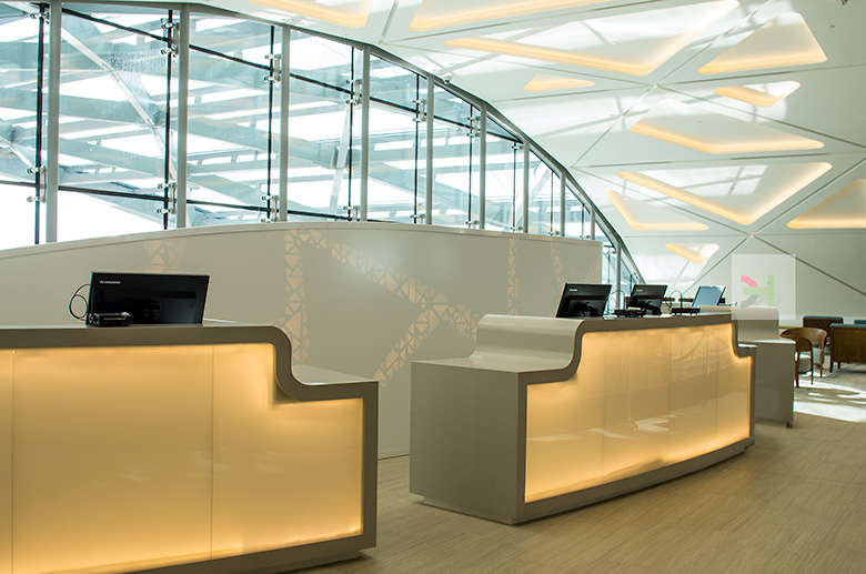 Innovative light lobby