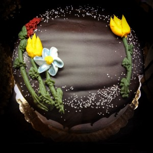 Chocolate, Cake, springtime