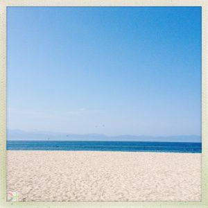 sand, sea, mountains