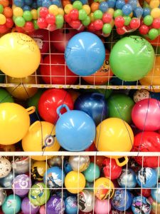 toys balls colorful