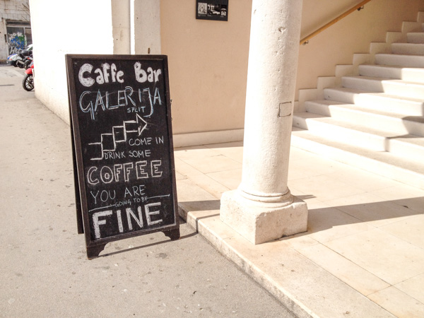 museum, Caffe, sign